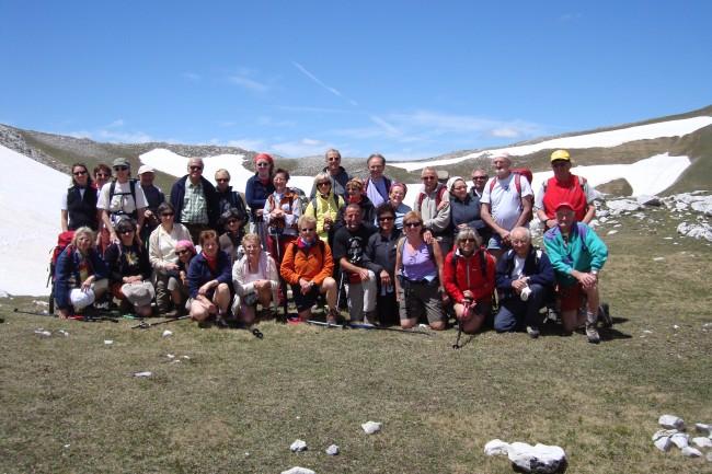 Gruppo partecipante Monti Sibillini