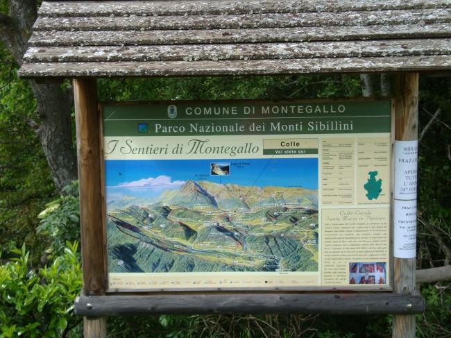 Monti Sibillini segnaletica