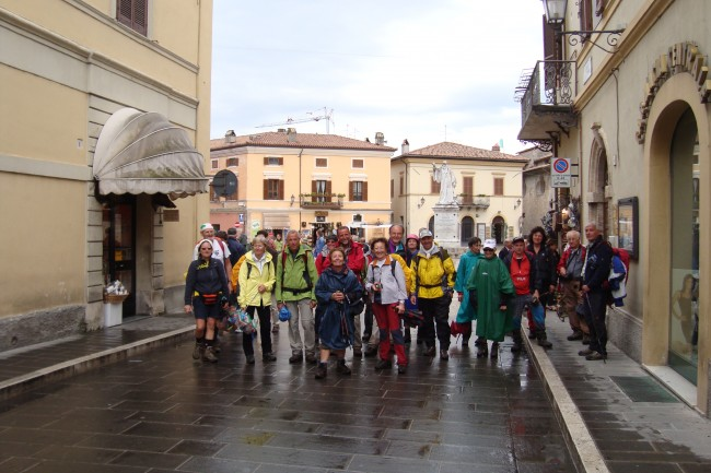 Arrivo a Norcia