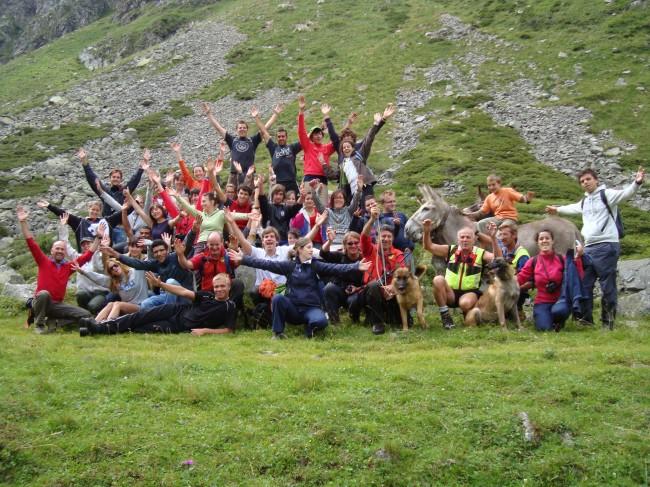 Alpe  BORS  con Soccorso Alpino