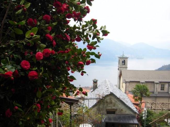 Panorama su Sant' Agata e il Lago