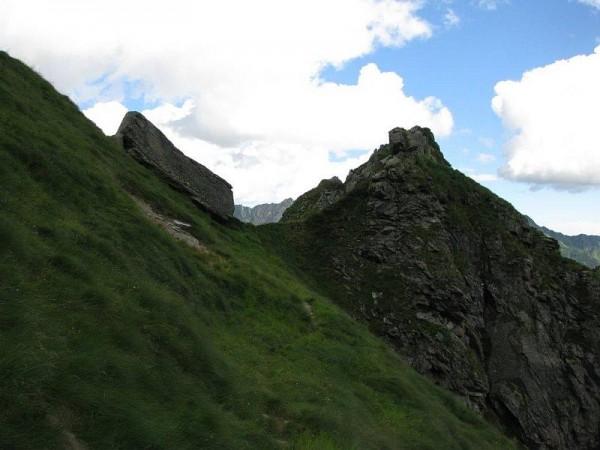 Sentiero Bocchetta del Badile - Raccordo tra i sentieri 113 e 117