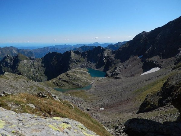 Sentiero Bivacco Ravelli - Laghi Tailly