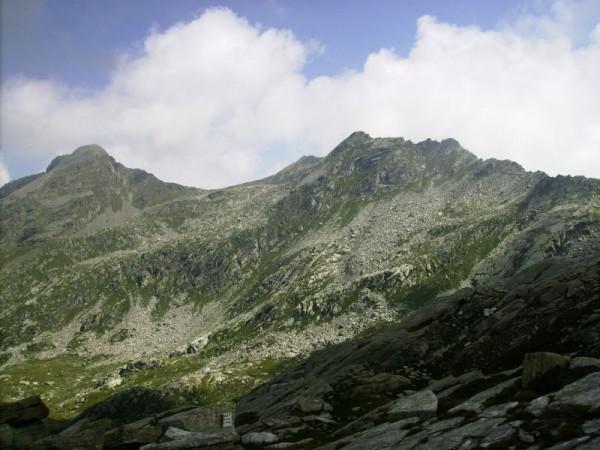 Sentiero Colle del Laghetto