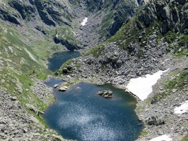 Sentiero Lago della Rossa