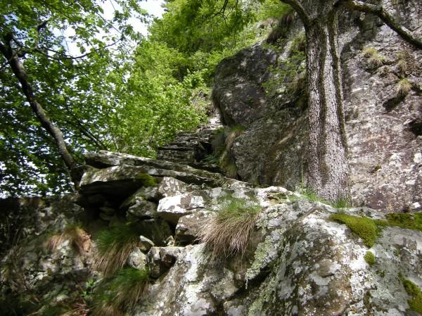 Sentiero Alpe Ortigosa ( via della Scala Granda)