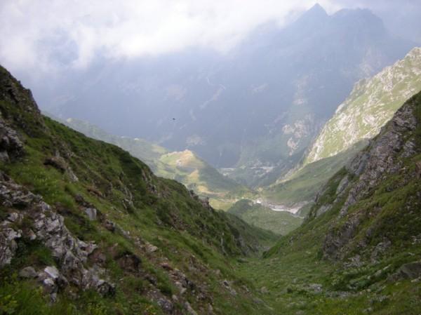 Sentiero Bocchetta della Moanda