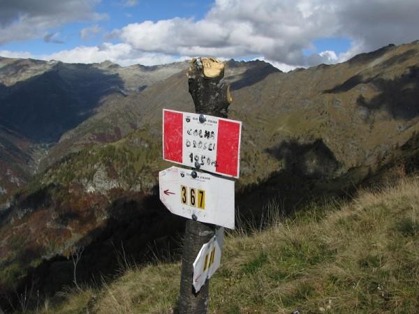 Sentiero Colma Drosei
