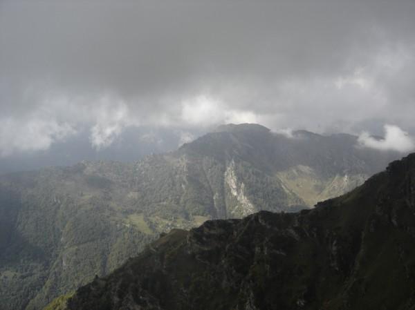 Sentiero Pizzo Tracciora dall'Alpe Cavaione