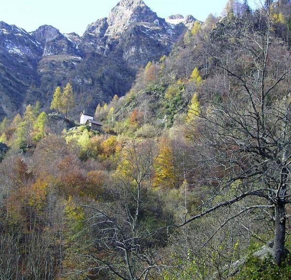 Sentiero Madonna del Balmone