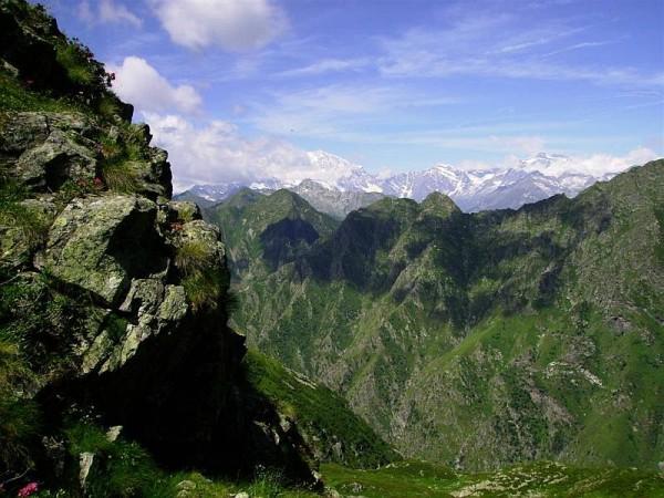 Sentiero Alpe Biserosso per il Colle di Vegliana