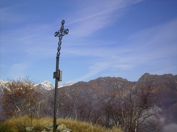 Sentiero Cima di Vaso - Cima di Grignano