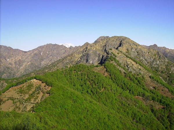 Sentiero Castello di Gavala (da Sud Est).