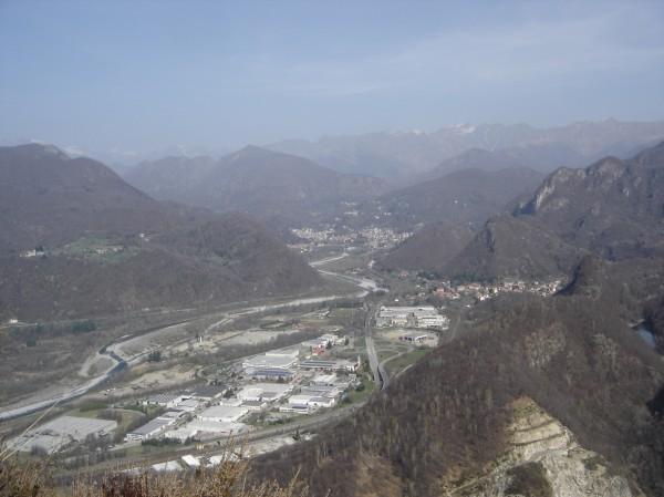 Sentiero Monte Tucri per il versante Nord