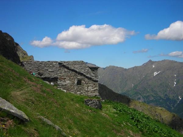 Sentiero Sella Alta del Sajunchè