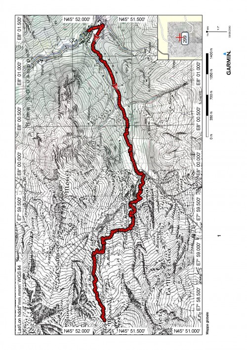 mappa cartinaBocchetta della Moanda