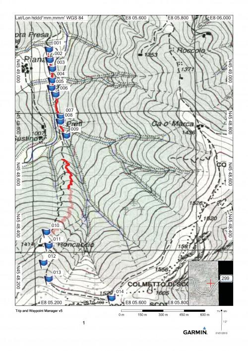mappa cartinaBocchetta di Scotto