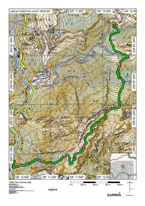 mappa cartinaGula di Cravagliana - San Gottardo di Rimella