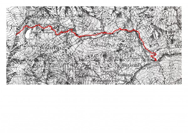 mappa cartinaColle del Campo