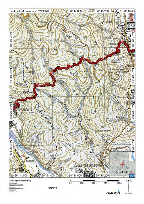 mappa cartinaBorgosesia (Ponte di Agnona) - Postua