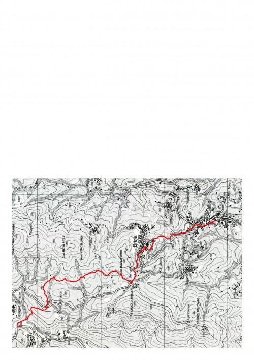 mappa cartinaCavaglia Morondo-Cellio
